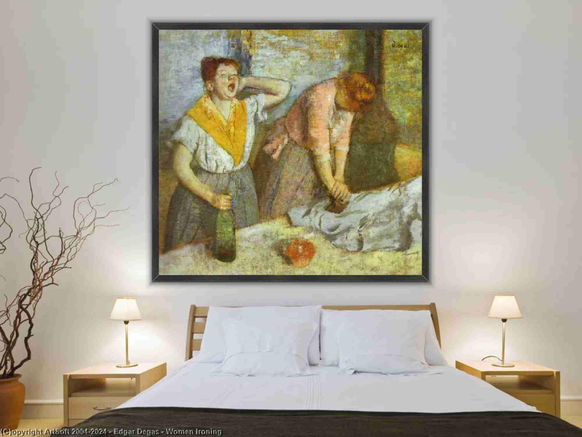 Edgar Degas - 女性たち アイロンがけ