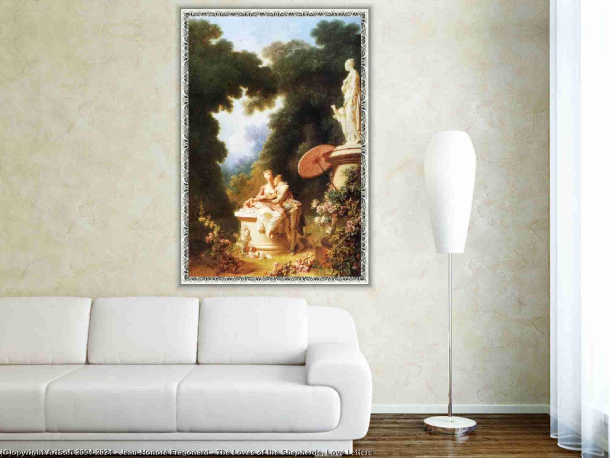 Jean-Honoré Fragonard - Gli amori dei pastori, Love Letters