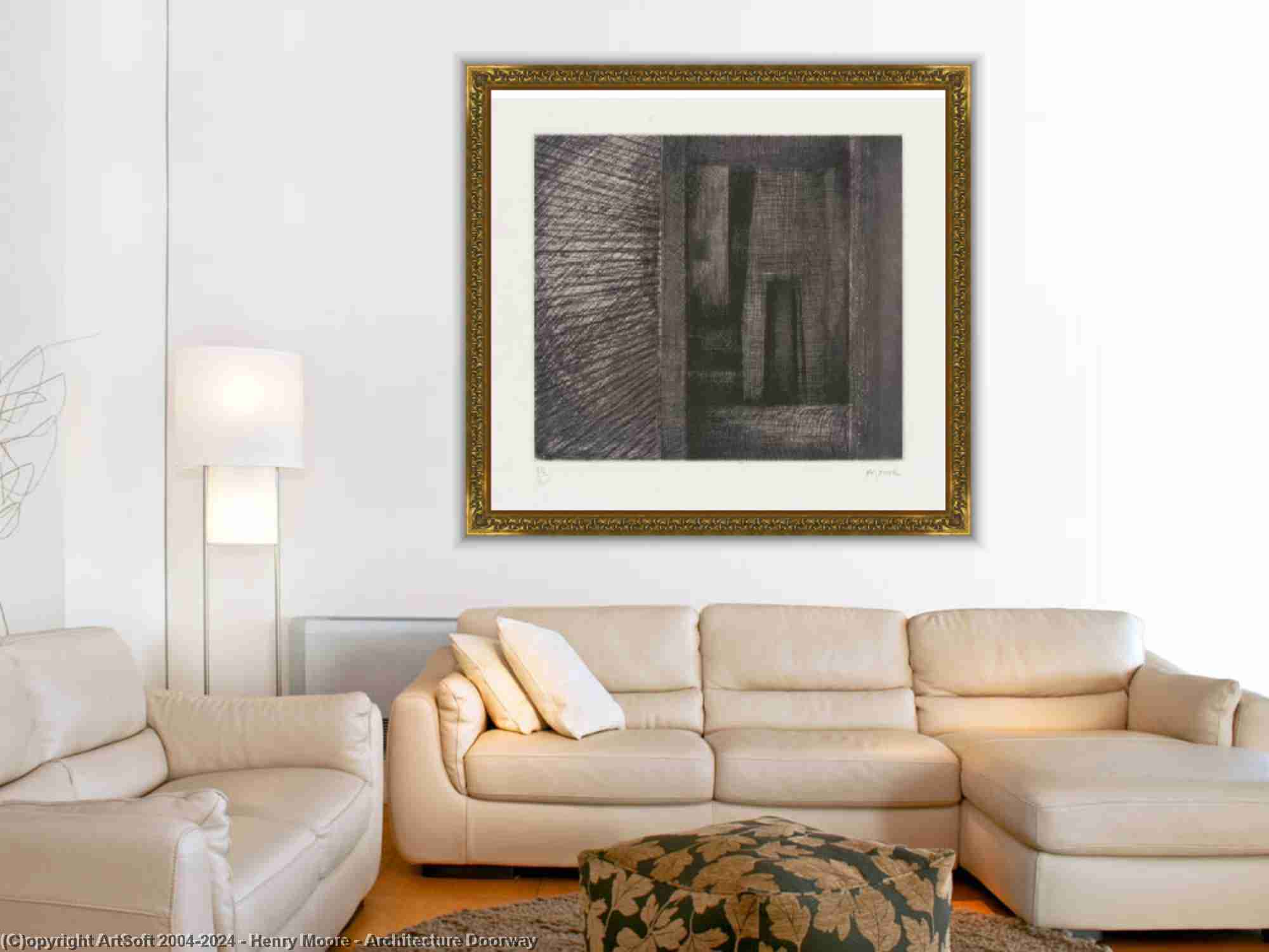 Henry Moore - Архитектура Дверной проем