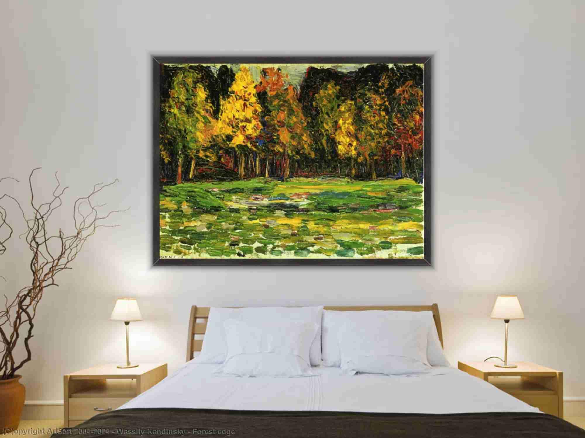 Wassily Kandinsky - Borda da floresta