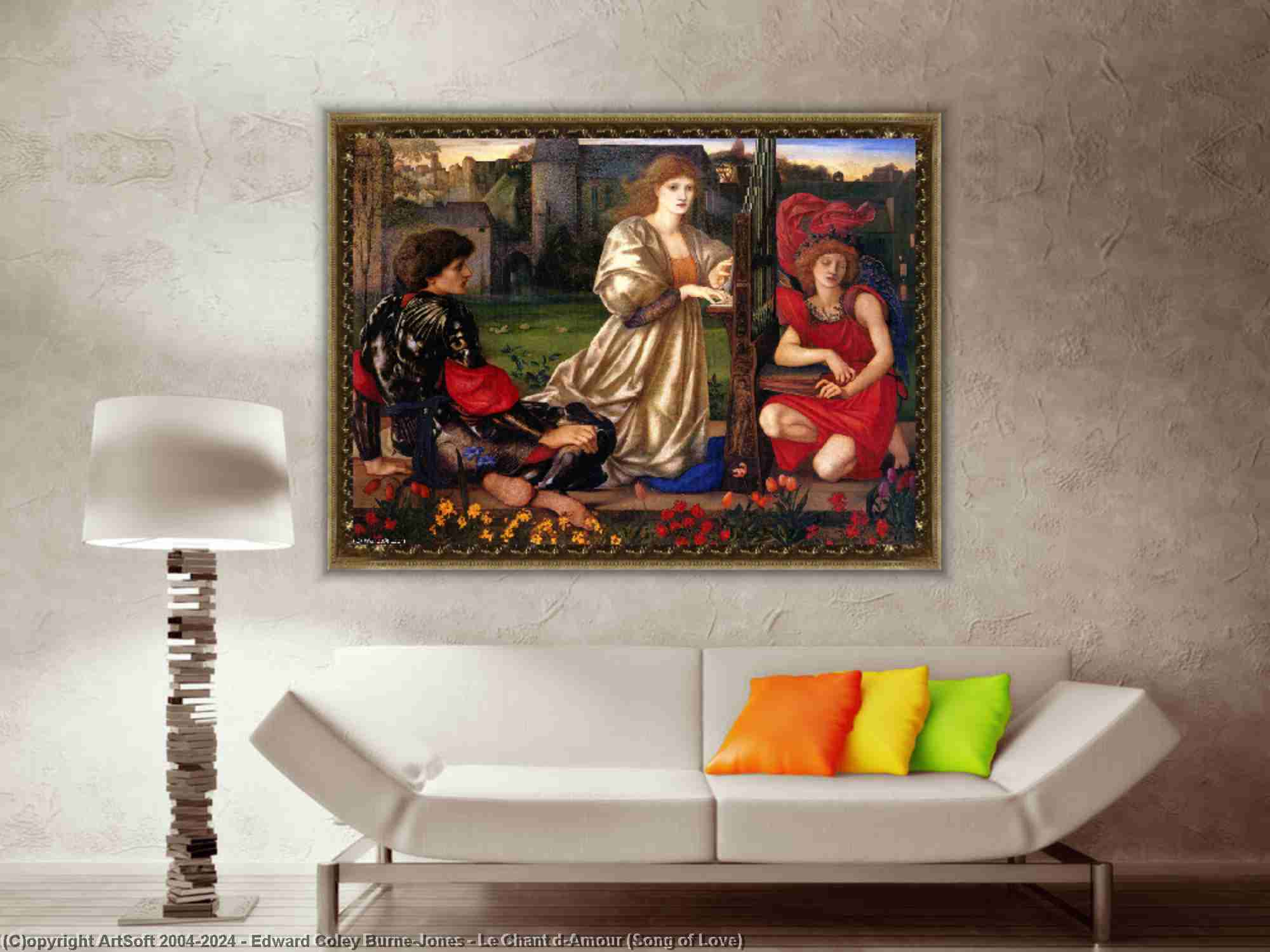 Edward Coley Burne-Jones - le chant d-Amour ( chant d amour )