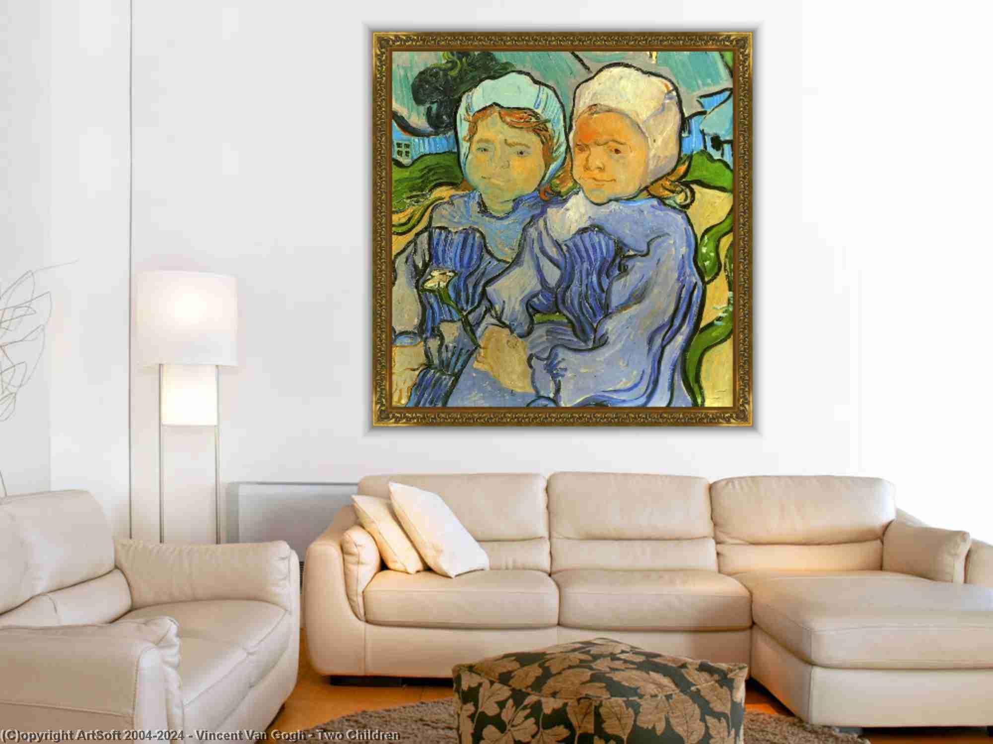 Vincent Van Gogh - zwei kinder