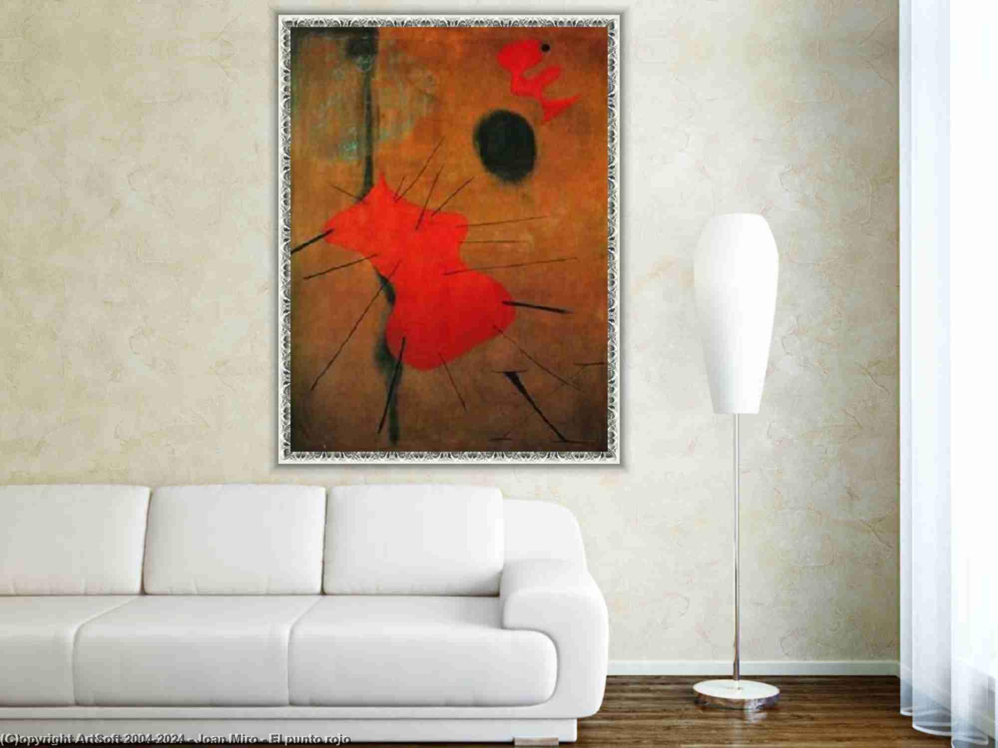 Joan Miro - El punto rojo