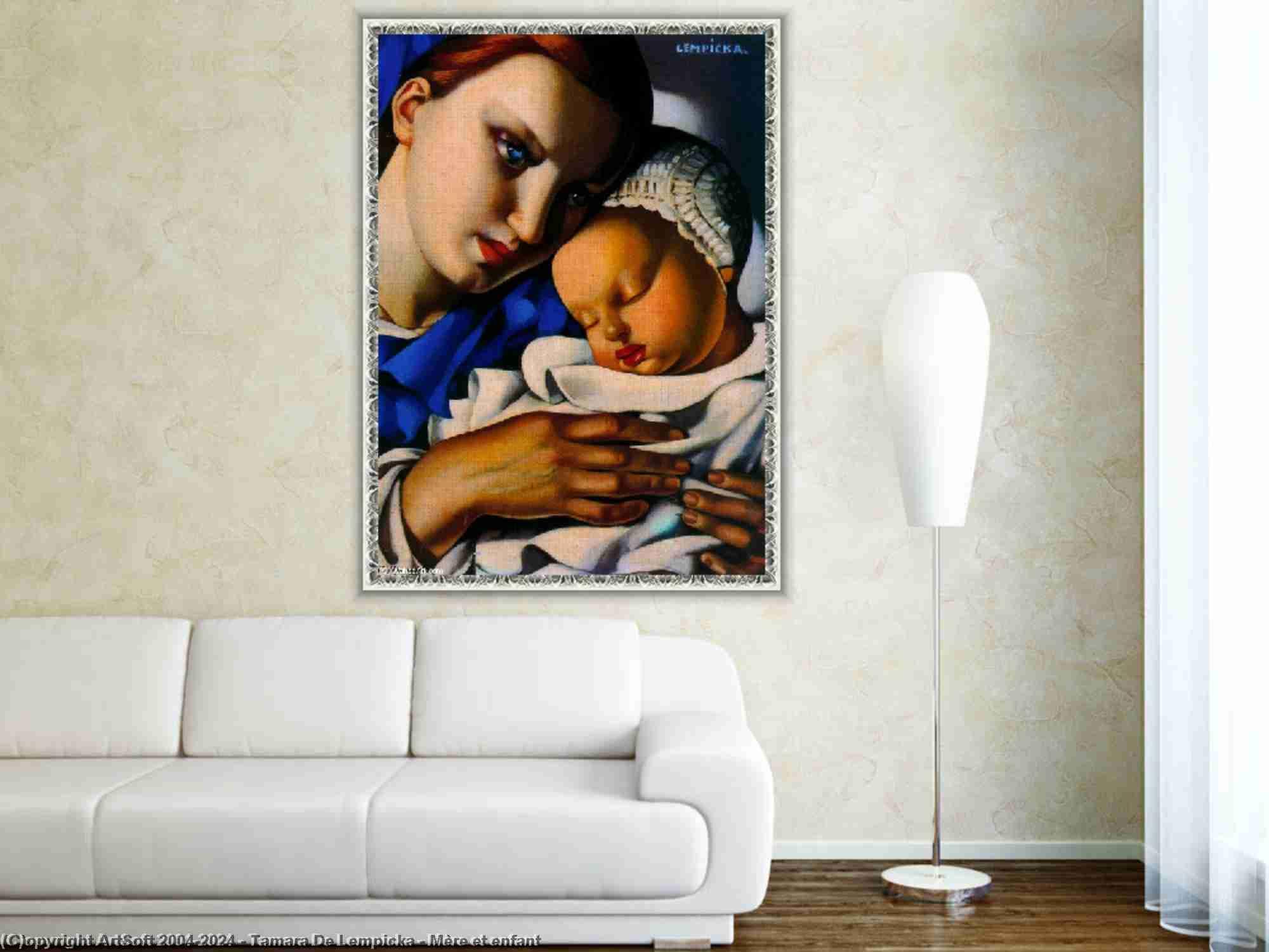 Tamara De Lempicka - Pur et enfant