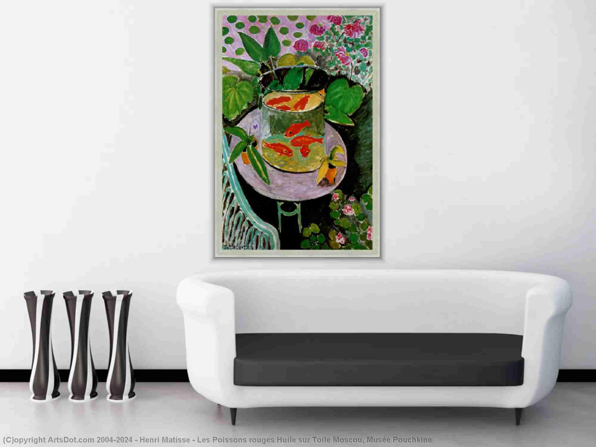 Henri Matisse - Le poisson rouge