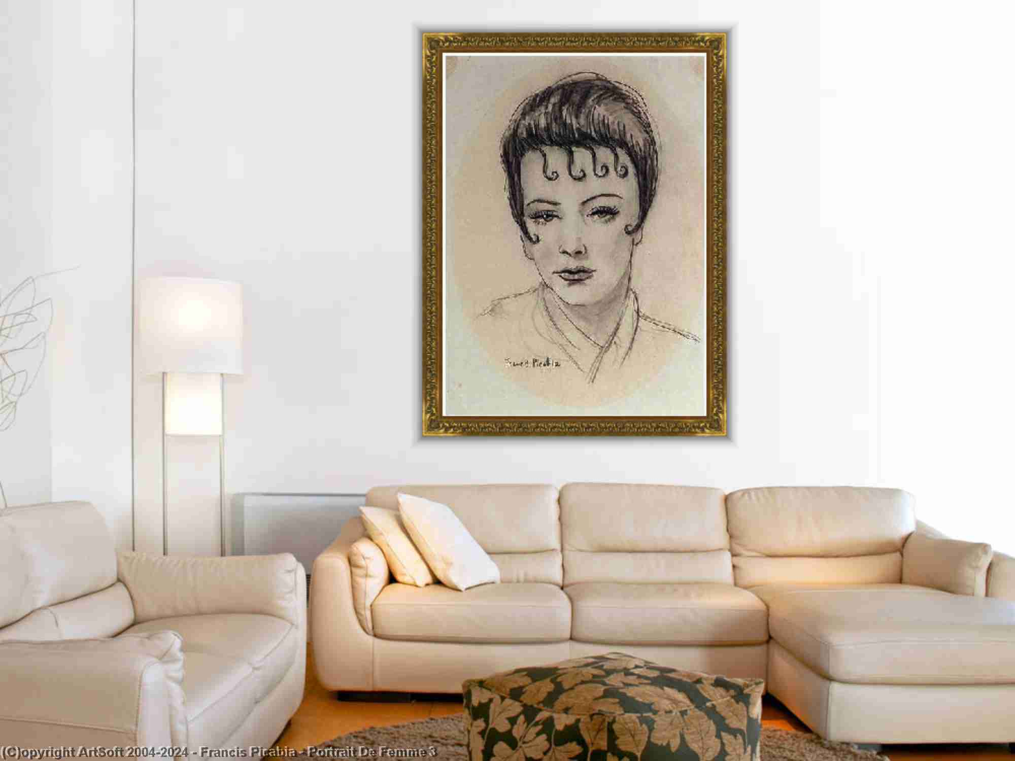 Francis Picabia - portrait de femme 3