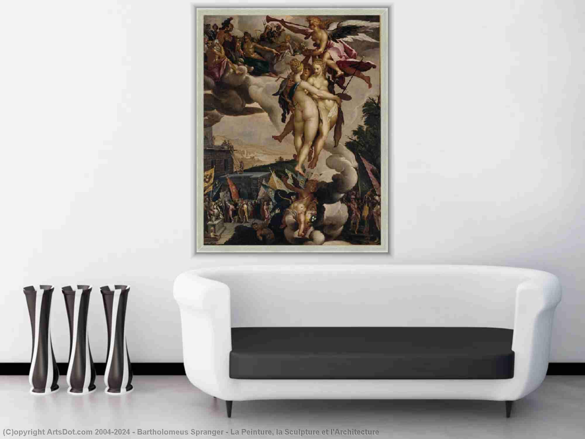 Bartholomeus Spranger - la peinture , la skulptur et l-Architecture