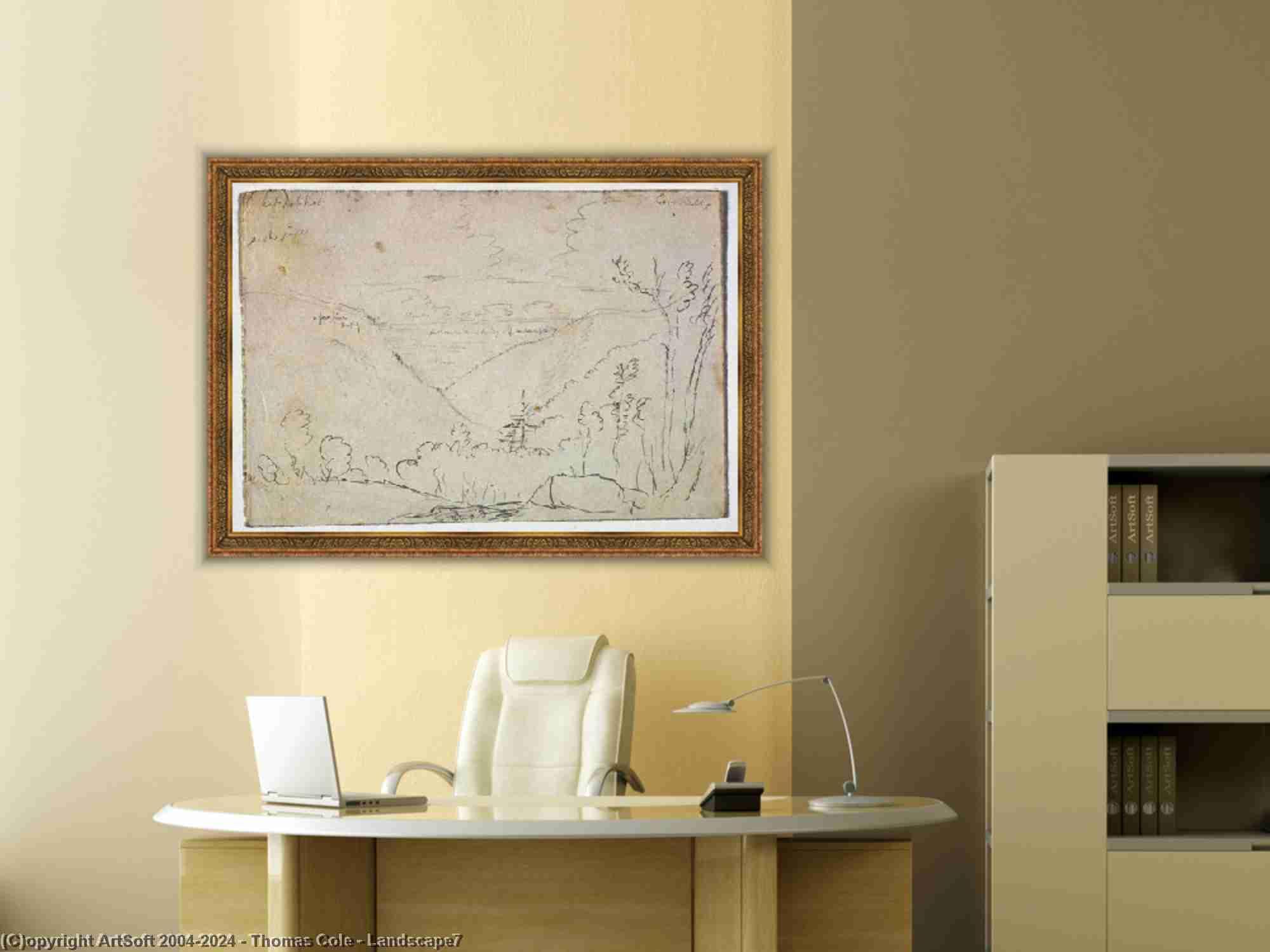 Thomas Cole - Landscape7