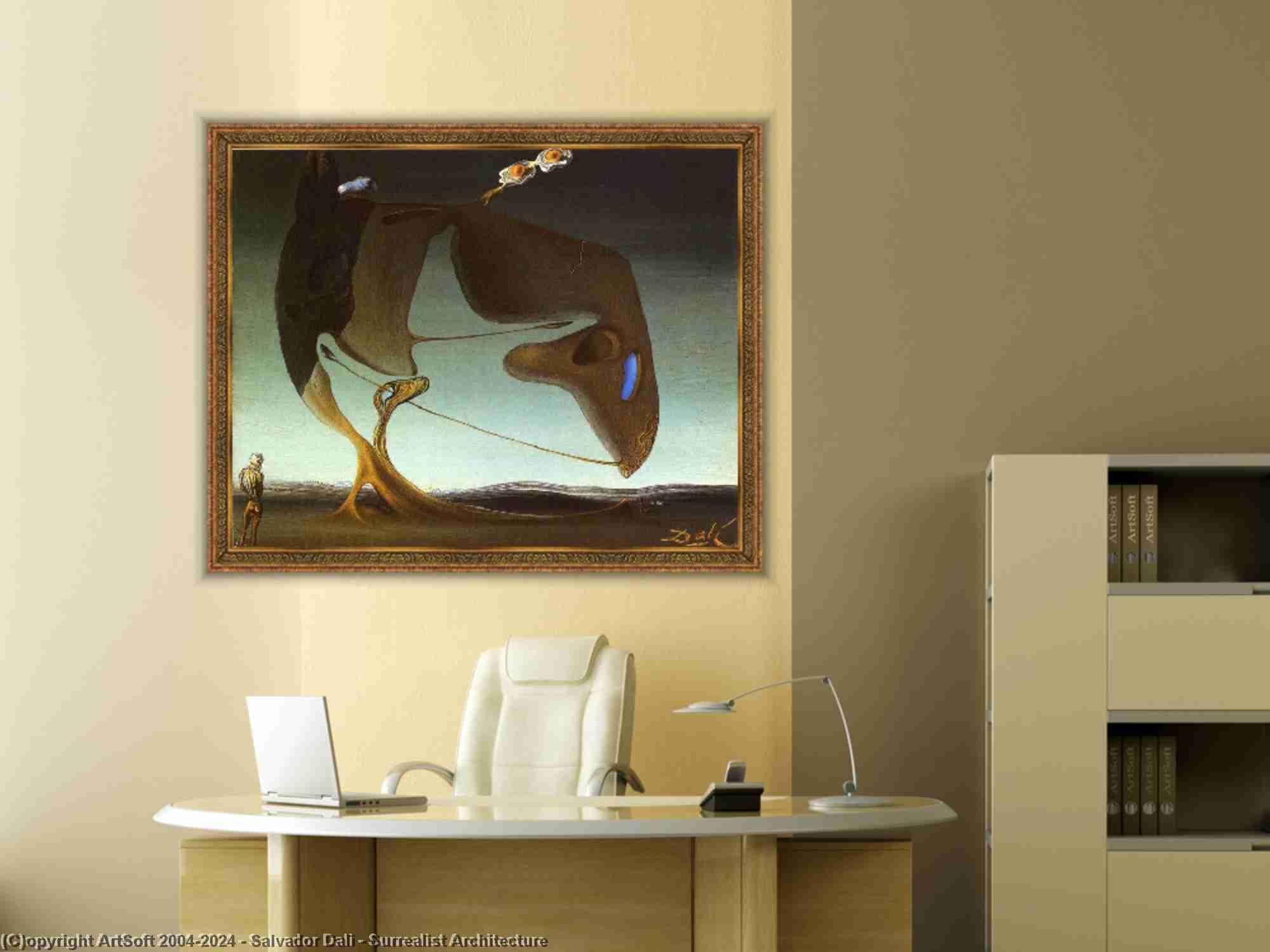 Salvador Dali - сюрреалистическая архитектура