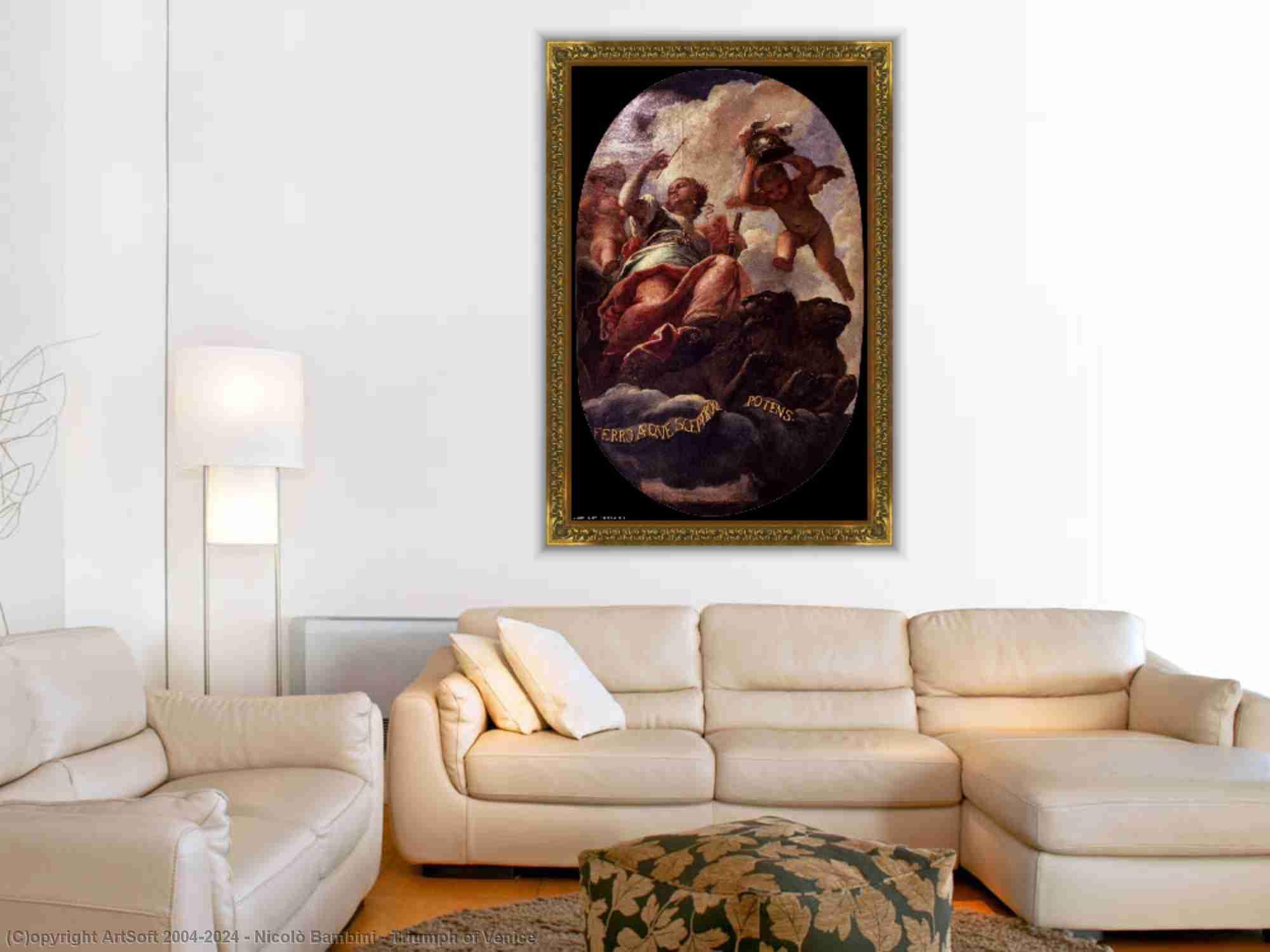 Nicolò Bambini - trionfo di Venezia