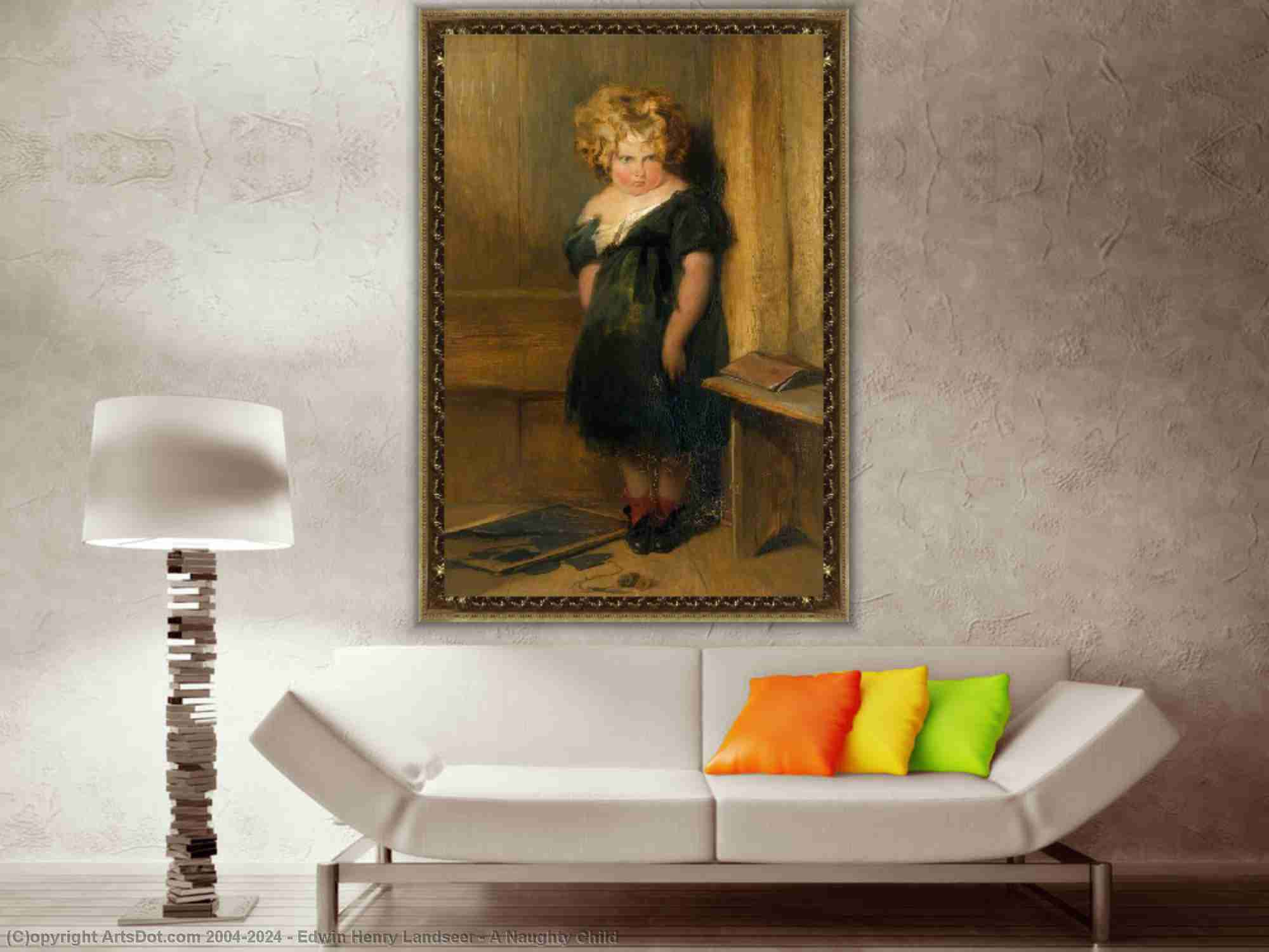 Edwin Henry Landseer - um impertinente criança