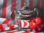 Elena Mehl - Still Life in Red-White