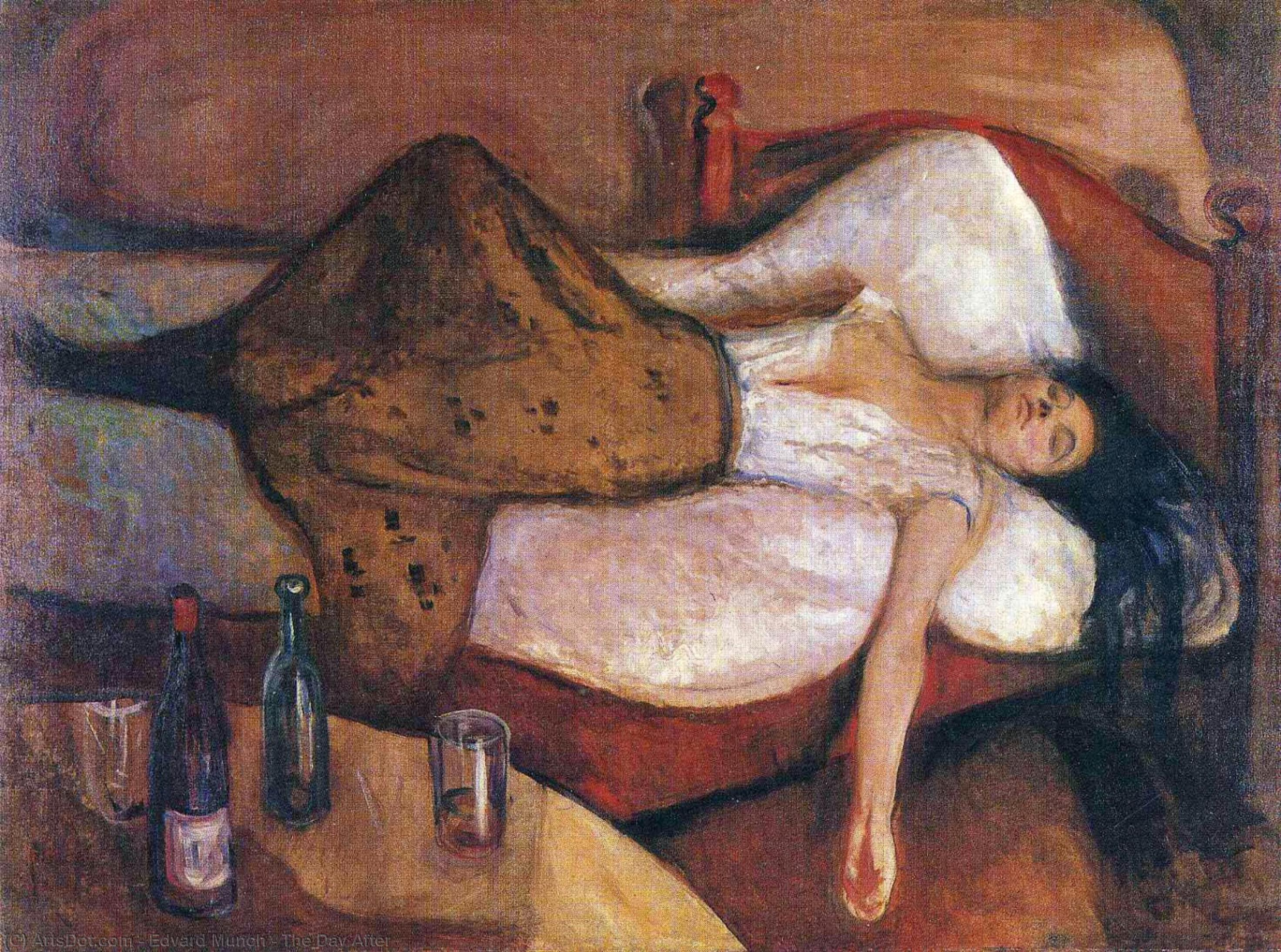 The Day After, 1895 by Edvard Munch (1863-1944, Sweden) | Reproductions Edvard Munch | ArtsDot.com