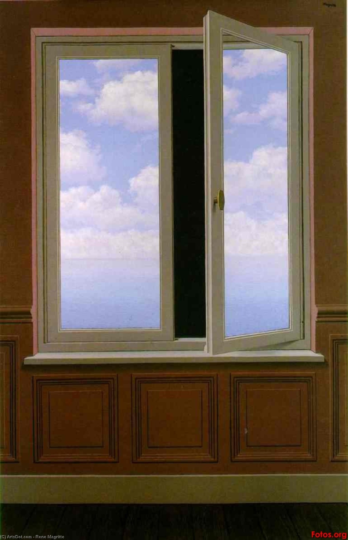 The looking glass, 1963 by Rene Magritte (1898-1967, Belgium) | Museum Quality Reproductions | ArtsDot.com