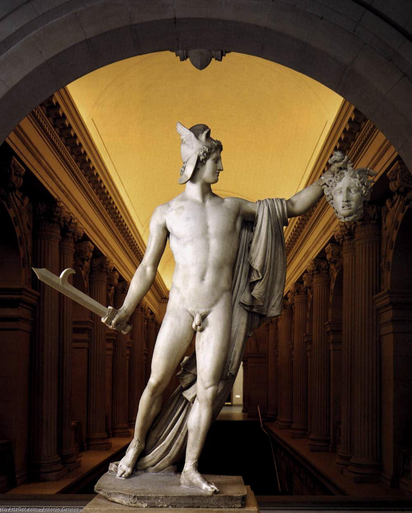 Perseus With The Head Of Medusa 1804 By Antonio Canova
