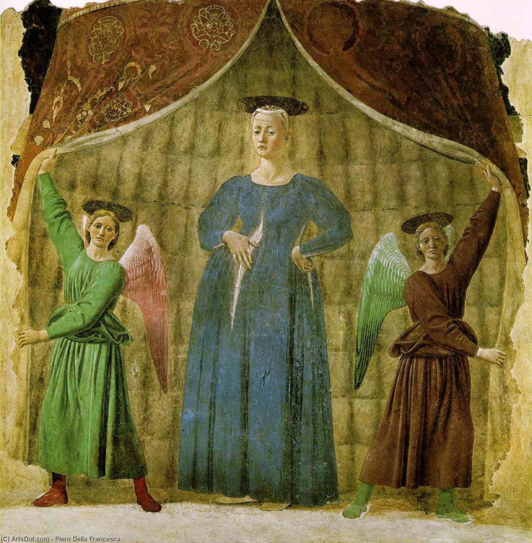 Madonna del partito , S, 1467 di Piero Della Francesca (1415-1492, Italy) | Stampe Di Qualità