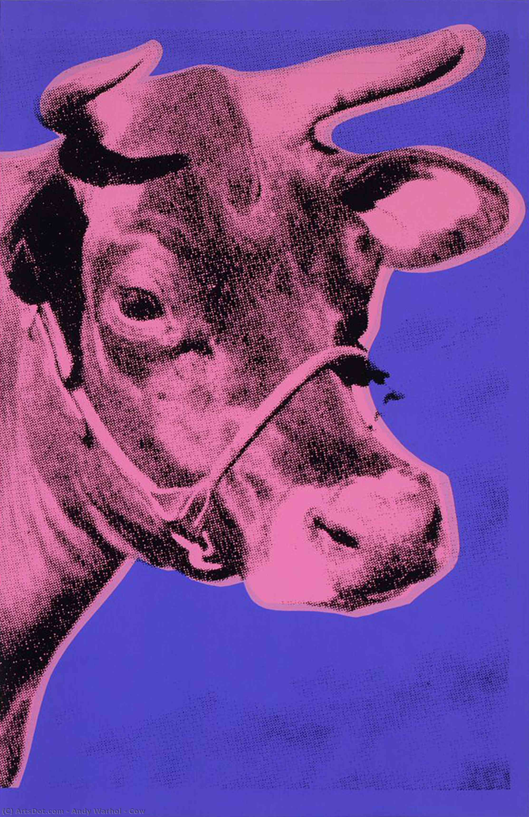 Mucca di Andy Warhol (1928-1987, United States) | | ArtsDot.com