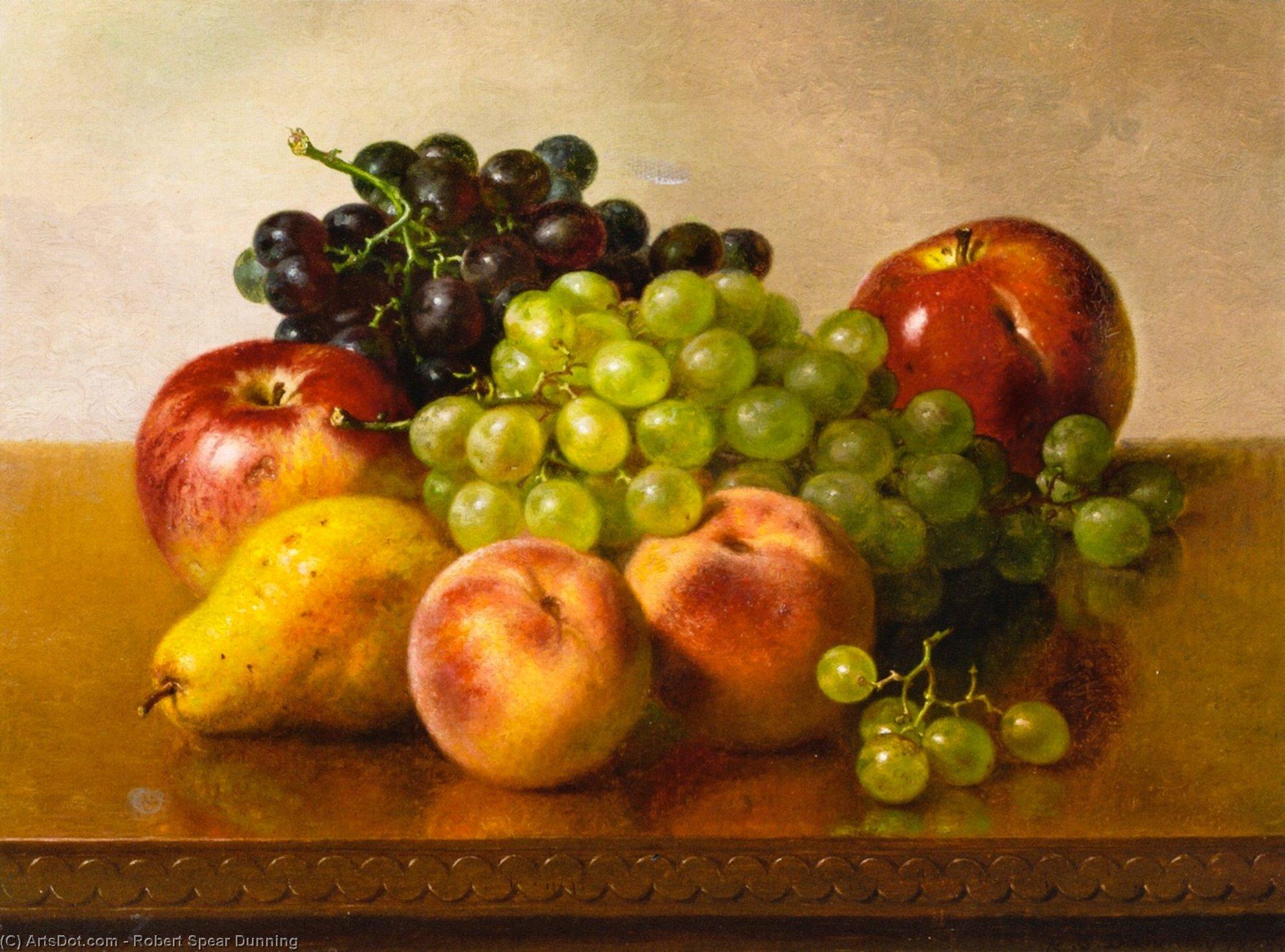 fb3971684 ainda vida com maçãs uvas Pêssegos e pera