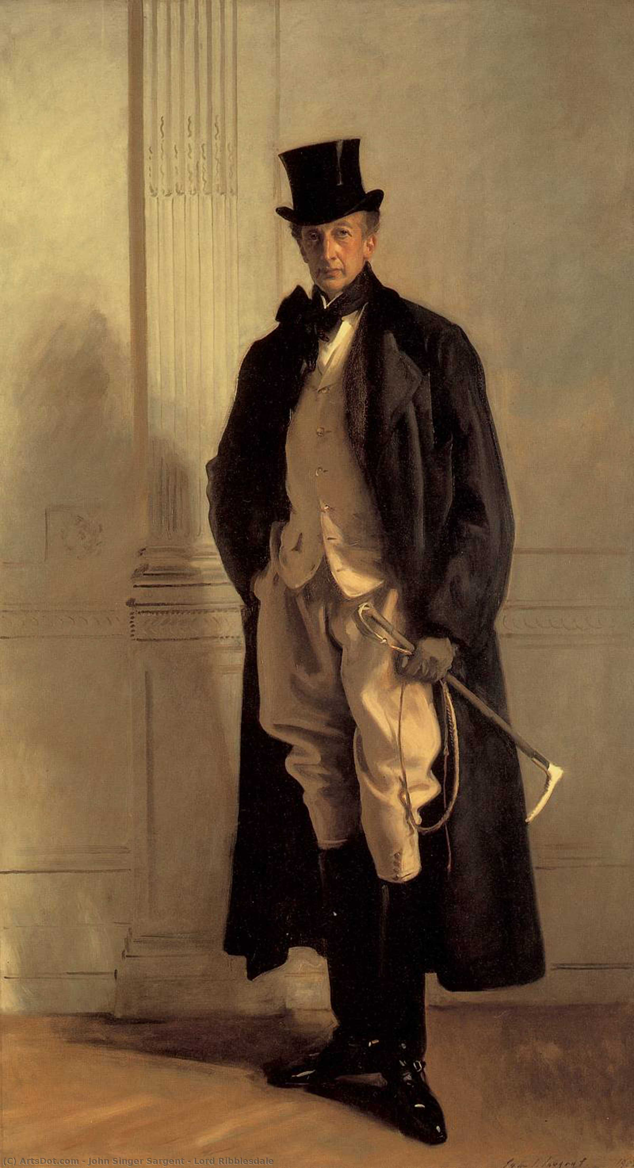 Lord Ribblesdale, 1902 by John Singer Sargent (1856-1925, Italy) | Art Reproduction | ArtsDot.com