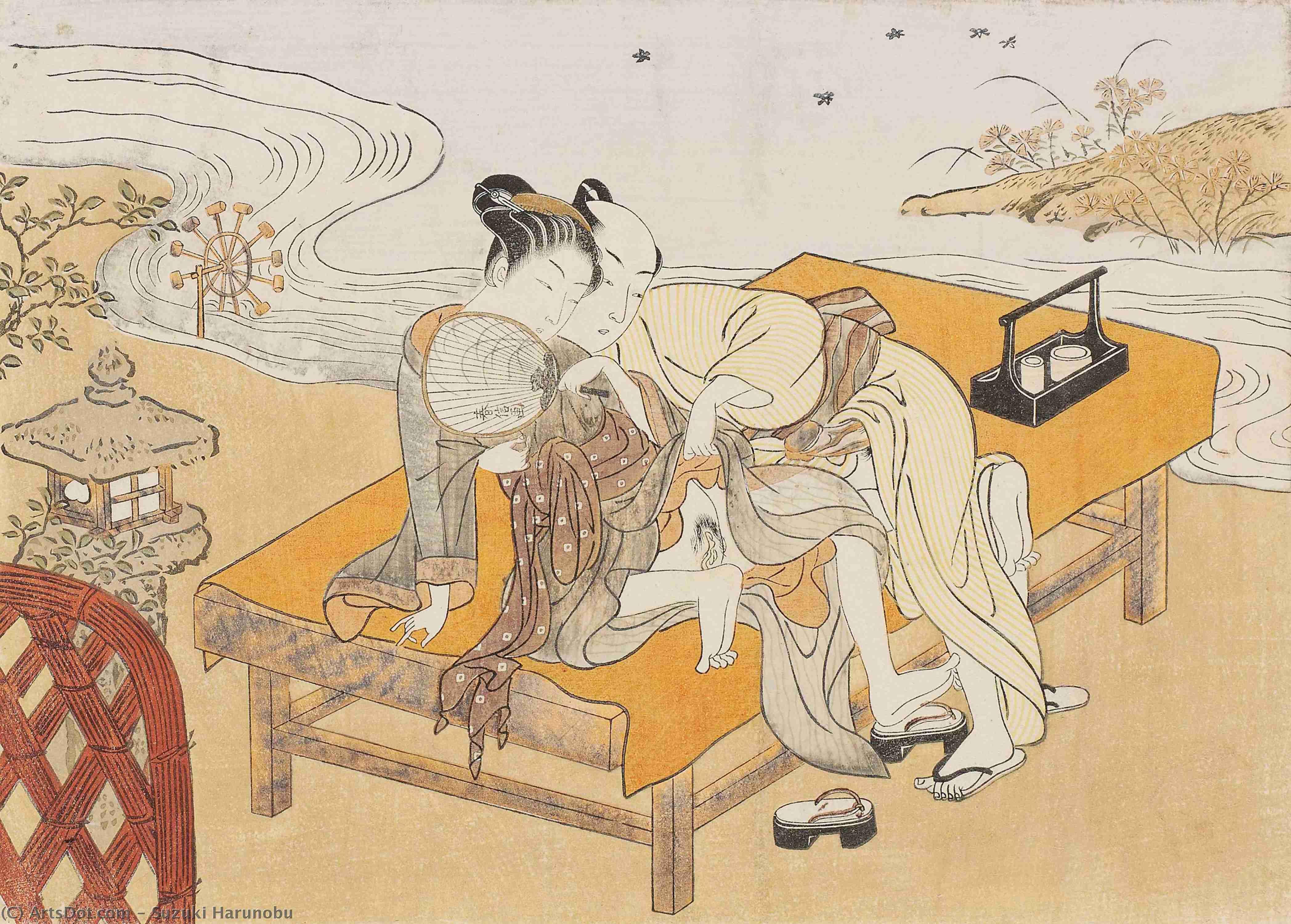Japanese erotic woodblock prints — photo 15