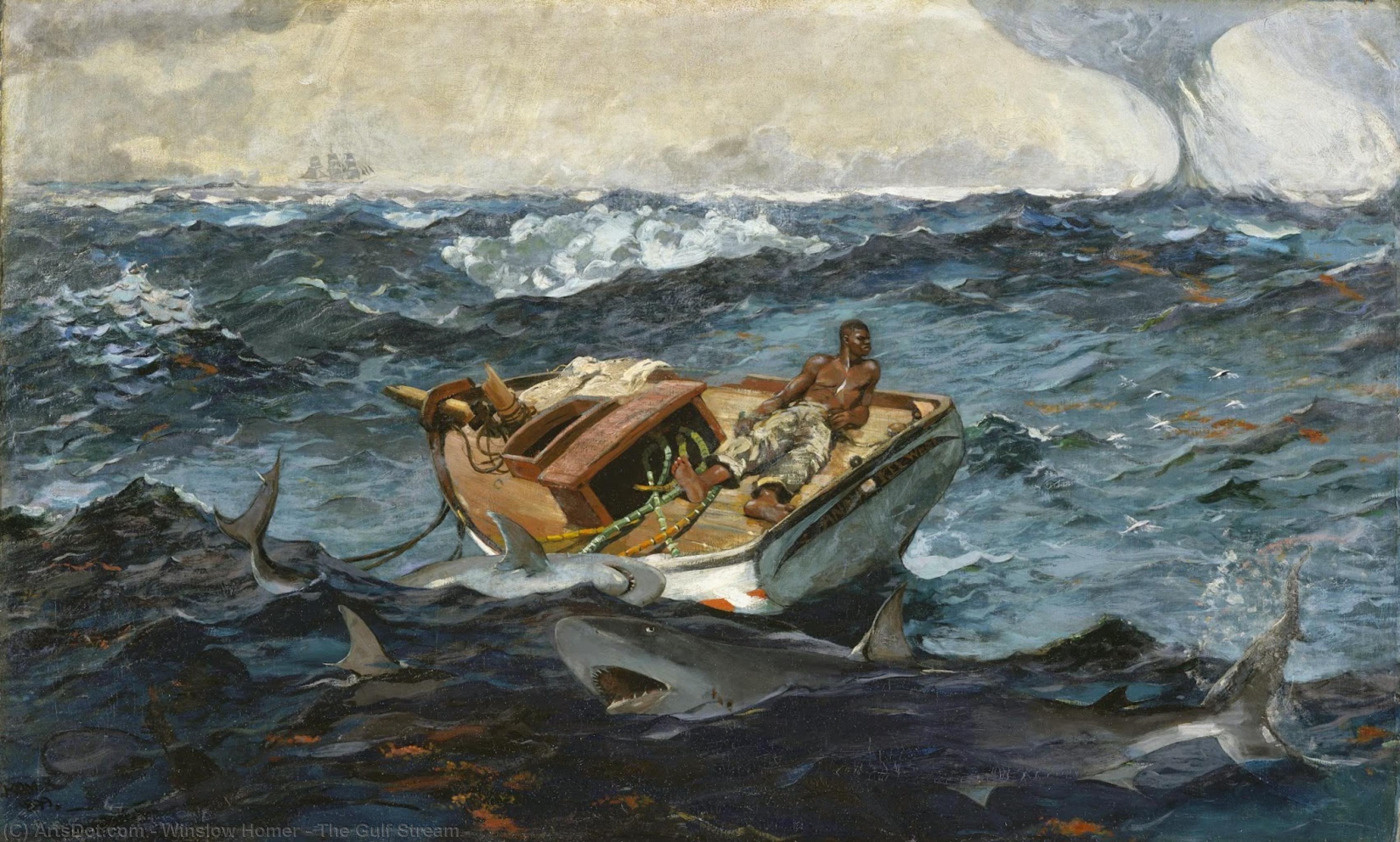 The Gulf Stream, 1906 by Winslow Homer (1836-1910, United States) | Art Reproduction | ArtsDot.com