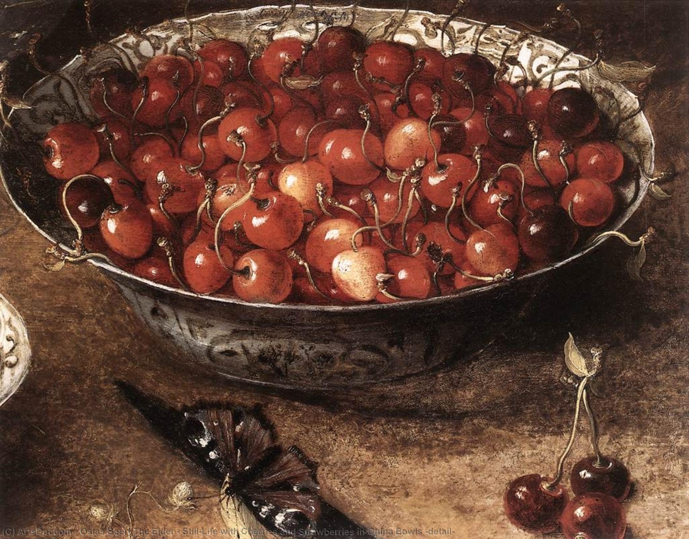 картинки старой вишни наносится