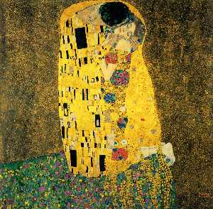 Gustav Klimt - The Kiss (Bacio)