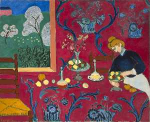 Henri Matisse - Harmony in Red