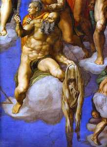 Michelangelo Buonarroti - The Last Judgment (detail..