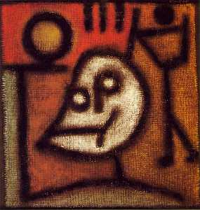 Paul Klee - Death and fire