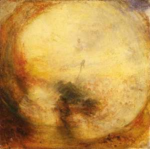 William Turner - The Morning after the Deluge