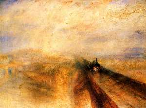 William Turner - Rain Steam and Speed, The Grea..