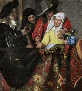 Jan Vermeer - The Procuress
