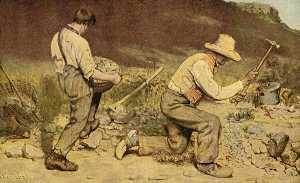 Gustave Courbet - The Stone Breakers
