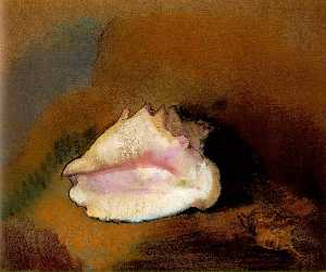 Odilon Redon - La coquille (The Seashell..