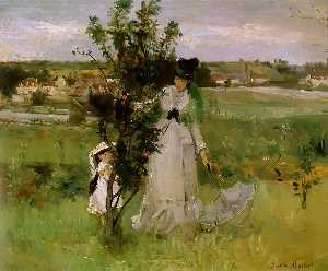 Berthe Morisot - Cache-cache (Hide-and-See..