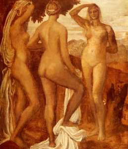 George Frederic Watts - The Judgement Of Paris