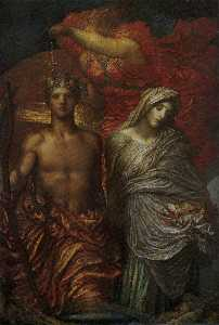 George Frederic Watts - Time, Death and Judgement