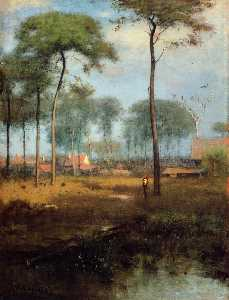 George Inness - Early Morning, Tarpon Spr..