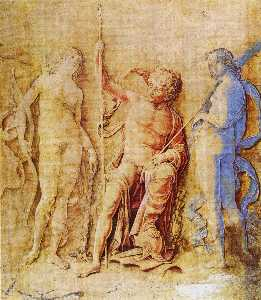 Andrea Mantegna - Mars, Venus, and Diana