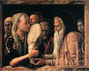 Andrea Mantegna - Presentation at the Templ..