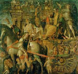 Andrea Mantegna - The Triumphs of Caesar