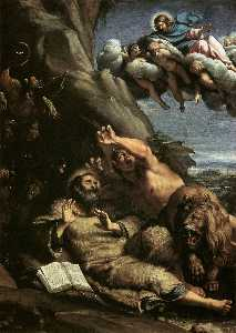 Annibale Carracci - The Temptation of St Anth..