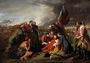 Benjamin West - a morte do general wolfe