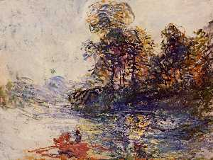 Claude Monet - The River