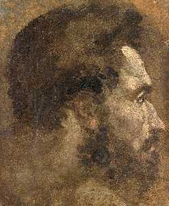 Domenico Di Pace Beccafum.. - Head of a Youth Seen in P..
