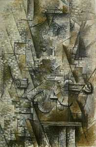 Georges Braque - Still Life with a Violin