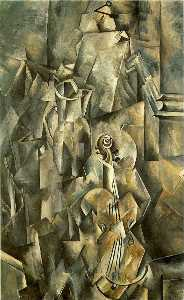 Georges Braque - Violin and pitcher