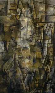 Georges Braque - Woman Reading