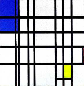 Piet Mondrian - Rhythm of Black Lines